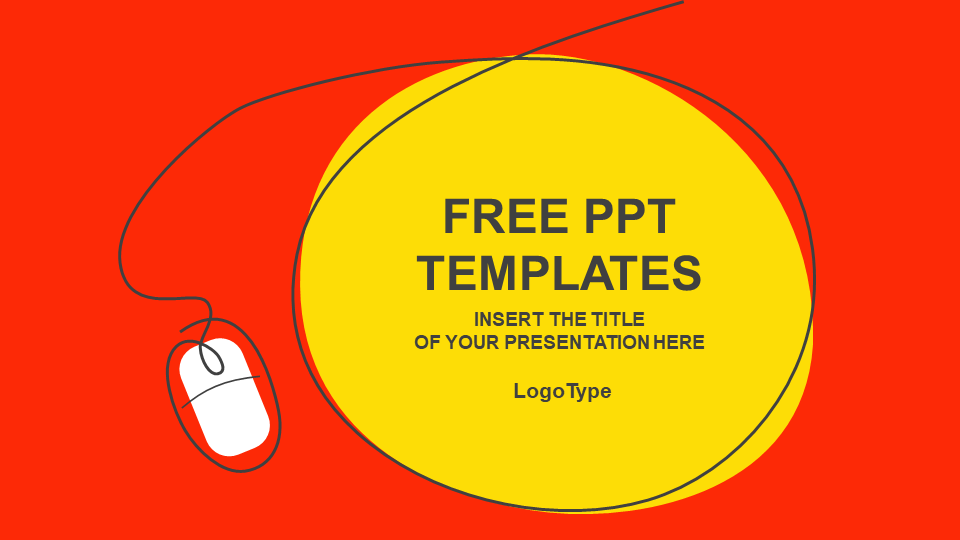 Computer Mouse PPT Templates