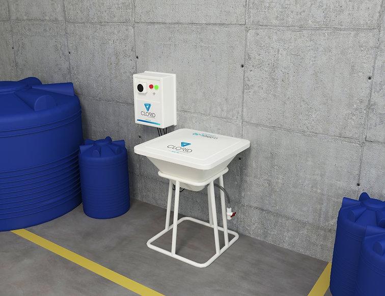 Máquina de 30 litros de cloro