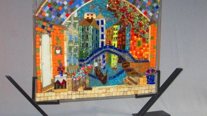 Venice Italy art mosaic