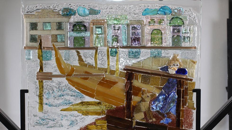 Venice art glass mosaic