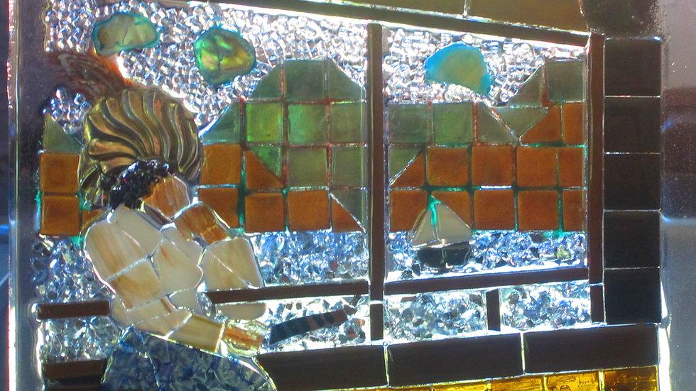 Rhine art glass mosaic