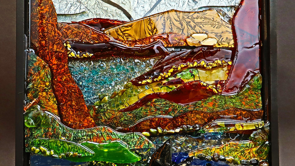 Whaling, Whale Watching mosaic art