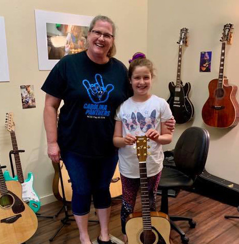 Katrina Earns a Guitar!