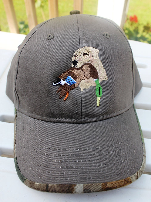 Labrador Bird Dog Baseball Cap