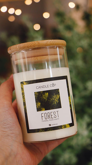 Nến thơm thiên nhiên - Forest - Candle Cup