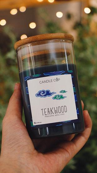 Nến thơm thiên nhiên - Teakwood - Candle Cup