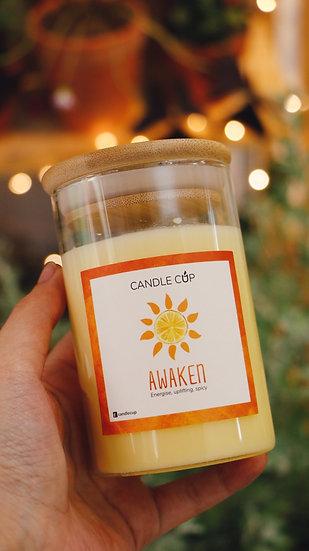 Nến thơm thiên nhiên - Awaken - Candle Cup