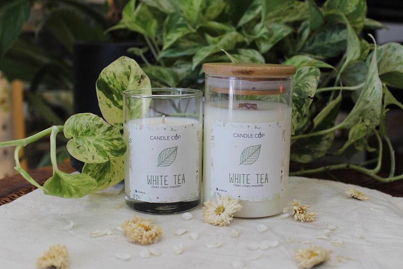 Nến thơm thiên nhiên - White Tea - Candle Cup