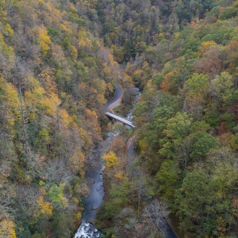 Aerial Nantahala River