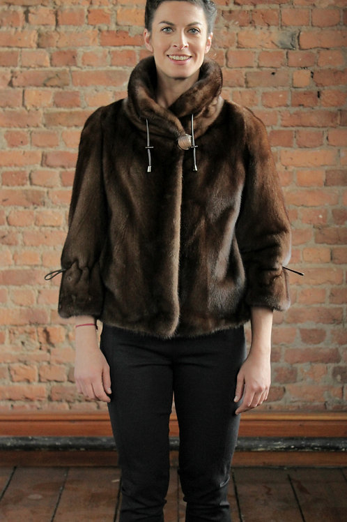 Francesca - Demi-Buff Mink Jacket