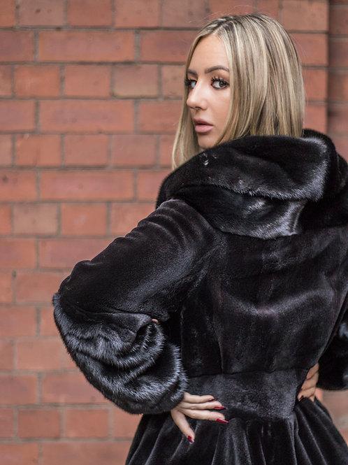 Lola - Black Sheared / FH Mink Jacket