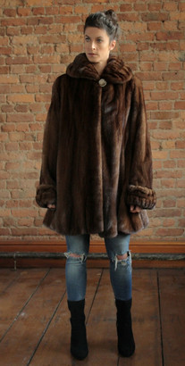 Demi-Buff 3/4 Mink Coat