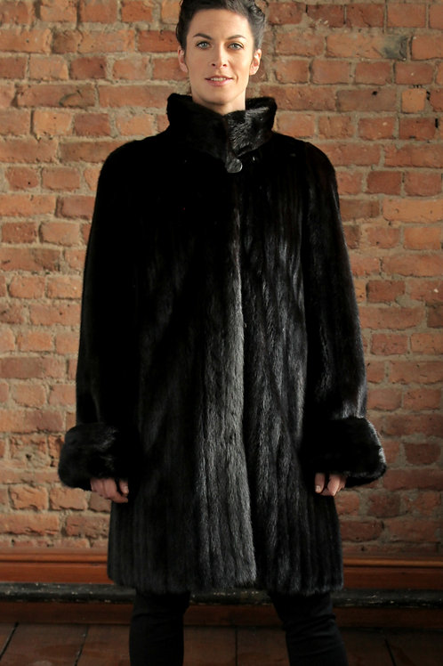Madison - Dark Mink Coat
