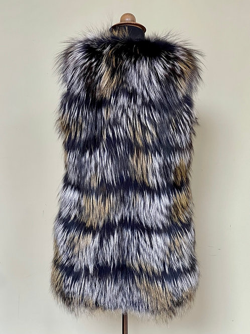 Silver Fox Fine Feathered Gilet