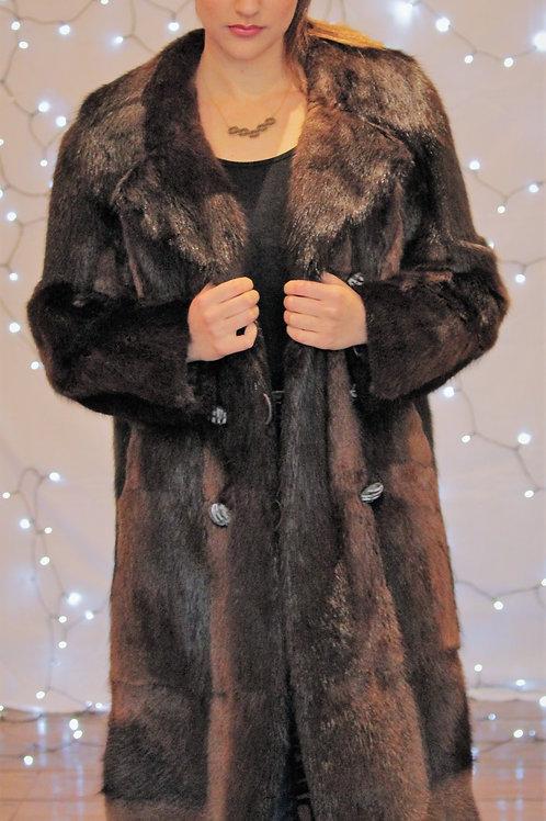 Black Musquash Coat