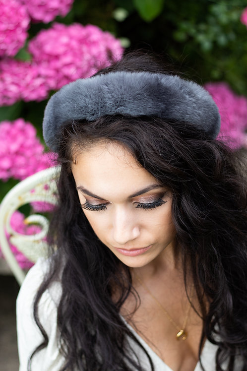 Rex Rabbit Fur Headband