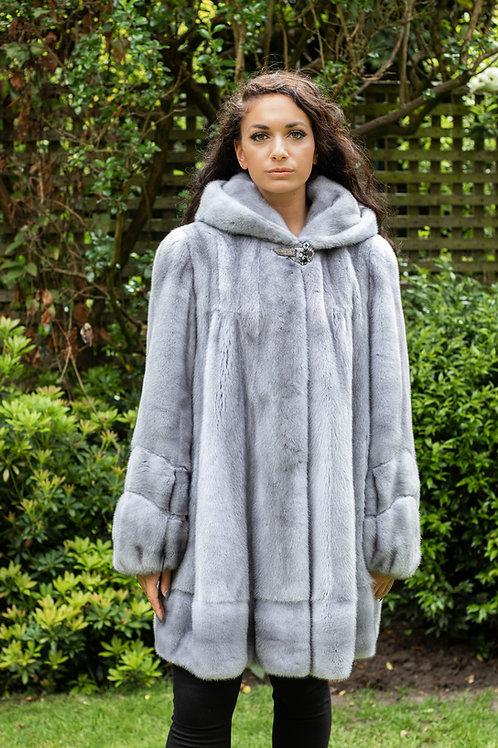 Sapphire Mink Coat