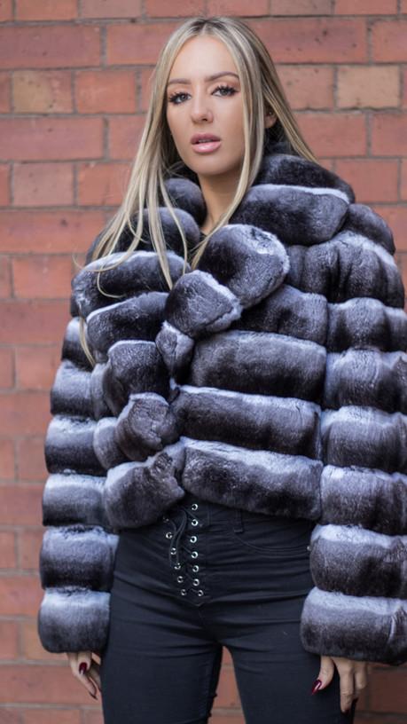 Natural Chinchilla Jacket