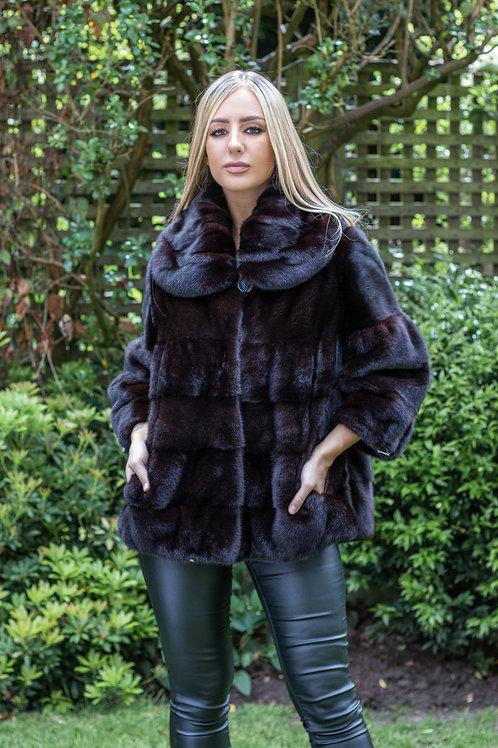 Black Jewel Mink Jacket