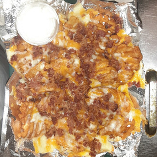 Loaded Fries | Pizza and Bones & Northeast Pizza and Bones