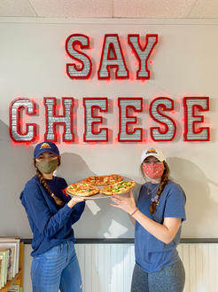 Say Cheese Wall-Northeast Pizza and Bones