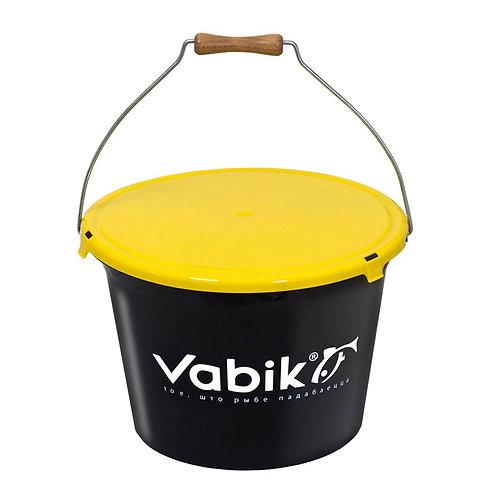 Ведро для прикормки Vabik PRO 18л