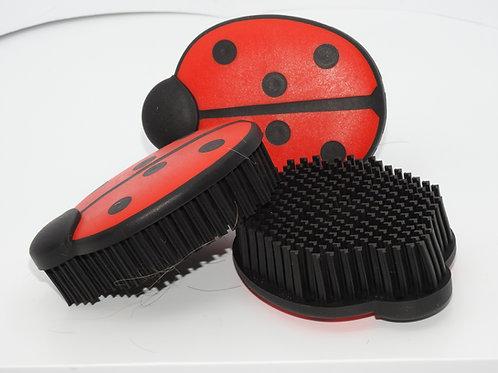 Lustige Kleiderbürste im Marienkäfer-Look