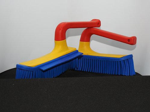 Qualitäts-Handfeger / -Handbesen in Harlekin-Design