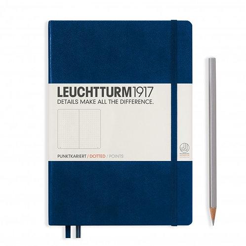 Leuchtturm1917 A5 Dot Grid Notebook - Navy