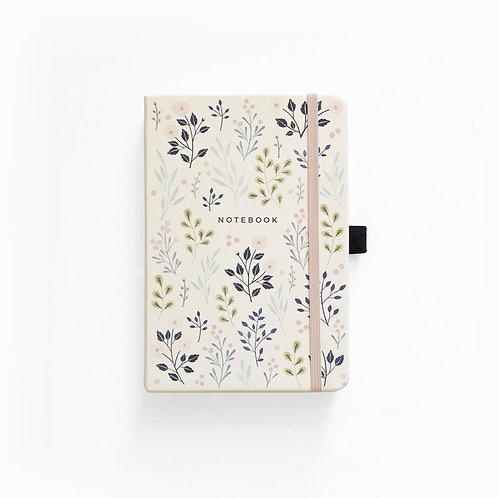 Archer & Olive A5 Dot Grid Notebook - Pink Flowers