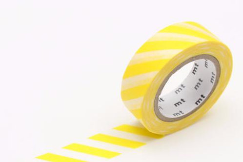 MT Stripe Lemon Washi Tape