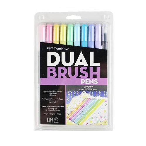Tombow Dual Brush Pen AB-T - Pastel Palette