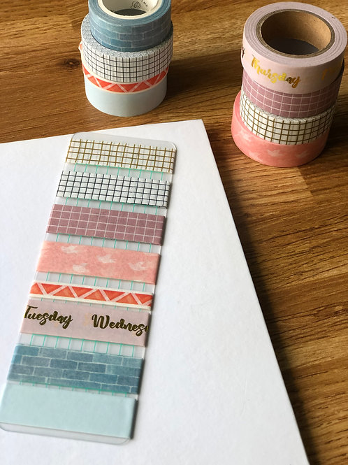 Washi Tape Storage Boards - Green Checks (Pack of 2)