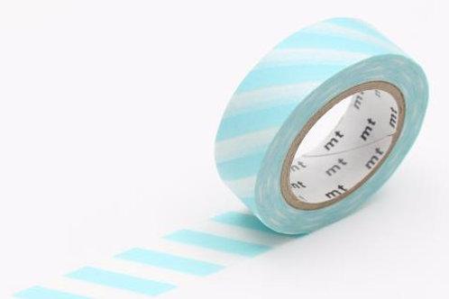 MT Stripe Mint Blue Washi Tape