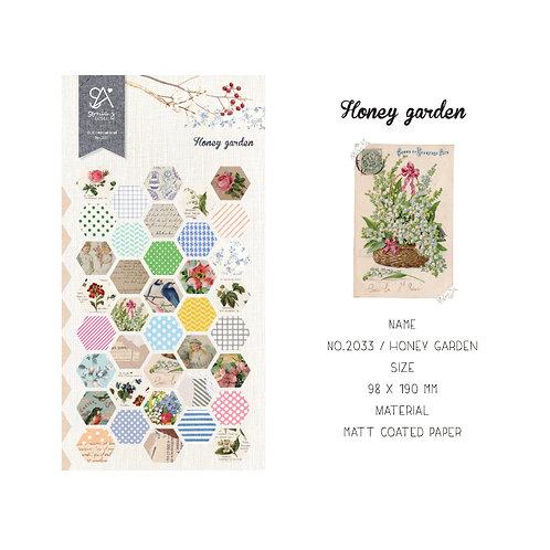 Honey Garden Stickers - Sonia J Design No.2033