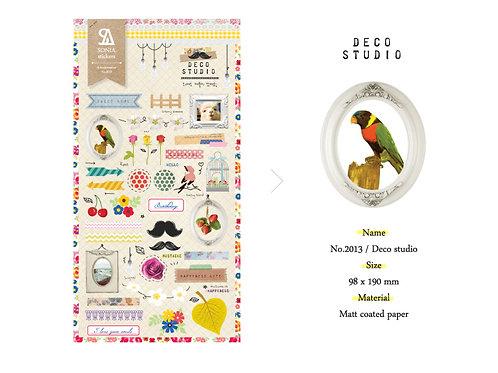 Deco Studio Stickers - Sonia J Design No.2013