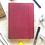 Thumbnail: Matrikas Signature Premium Dot Grid Notebook 100 gsm - Maroon
