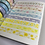 Thumbnail: Yellow Flowers Washi Tape (Extra Long!)