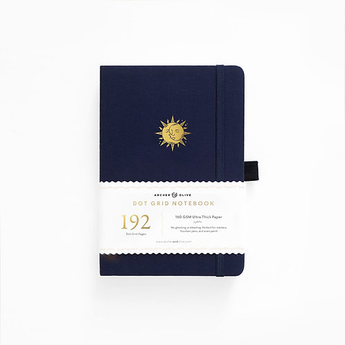 Archer & Olive A5 Dot Grid Notebook - Autumnal Equinox 192 PAGES