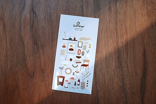 Suatelier Stickers No.1101 - Objet