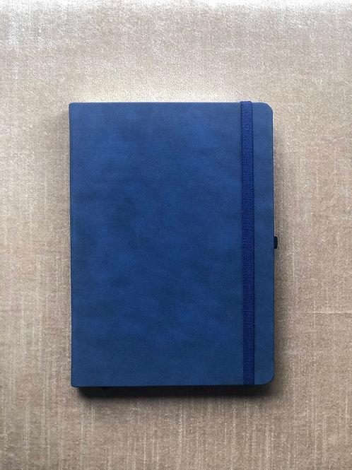 Matrikas Signature Premium Dot Grid Notebook 100 gsm - Dark Blue