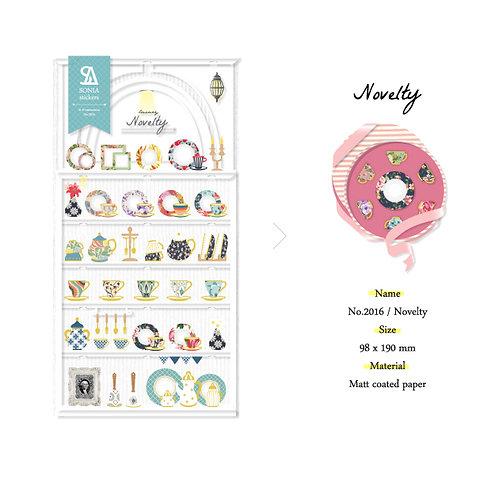 Novelty Stickers - Sonia J Design No.2016