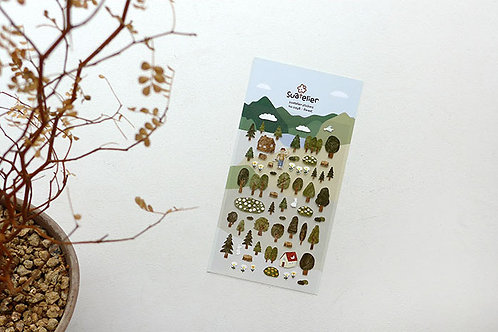 Suatelier Stickers No.1098 - Forest