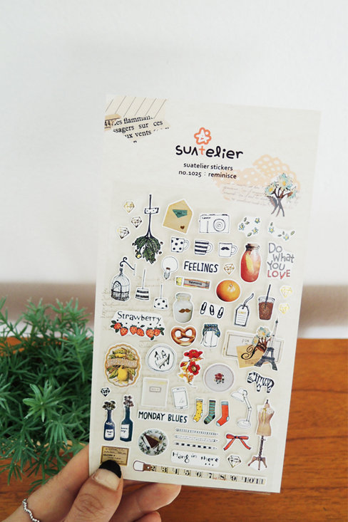 Suatelier Stickers No.1025 - Reminisce