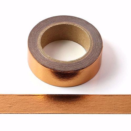 Copper Metallic Washi Tape