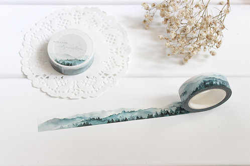 Misty Mountain Washi Tape
