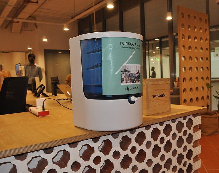 Sensor based hand sanitiser - Purpose Prime