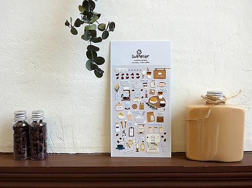 Suatelier Stickers No.1084 - I Like Coffee