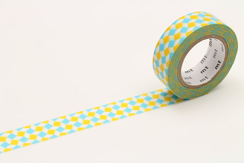 MT Square Yellow Washi Tape
