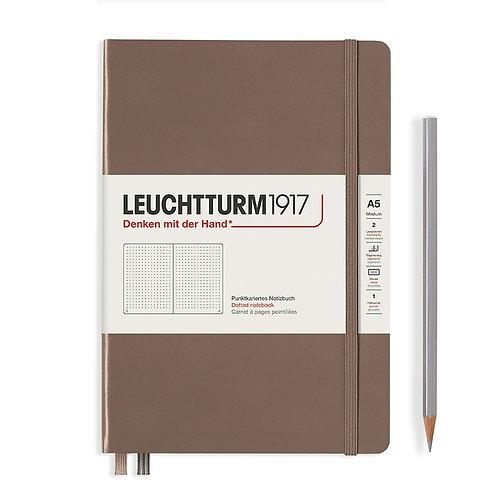Leuchtturm1917 A5 Dot Grid Notebook - Warm Earth